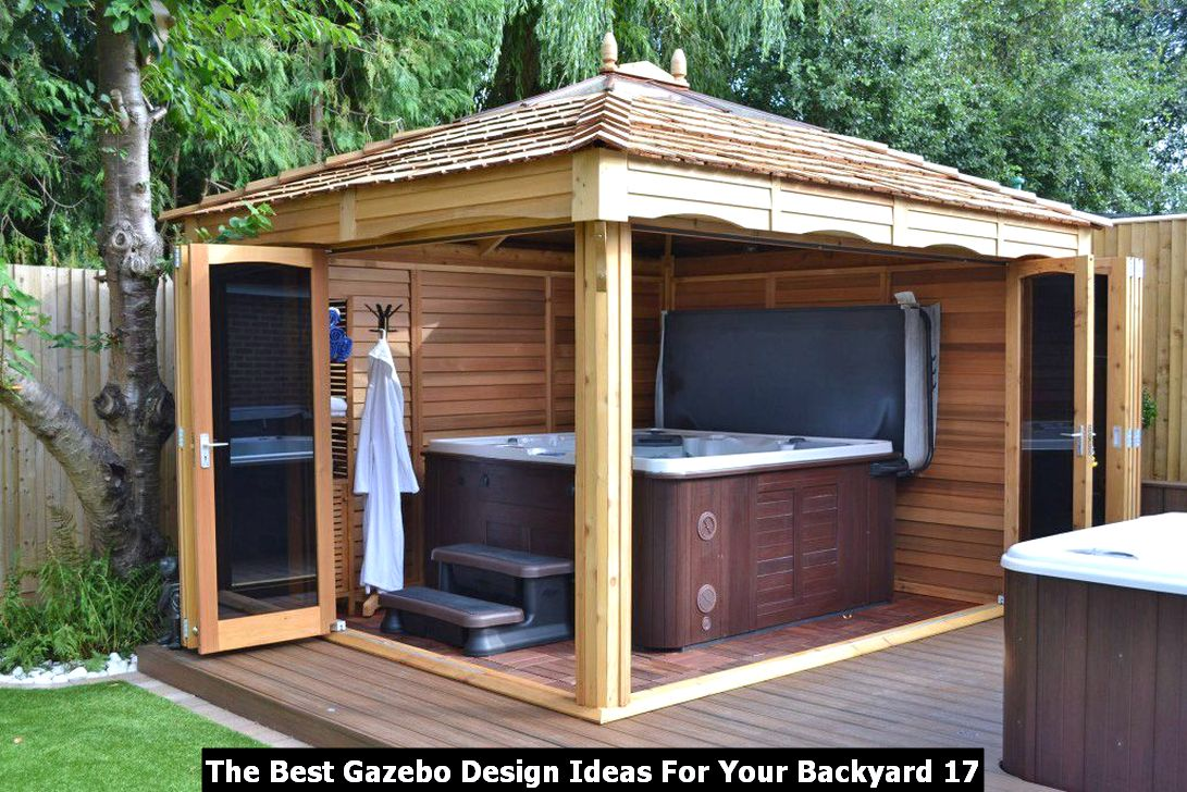 The Best Gazebo Design Ideas For Your Backyard 17