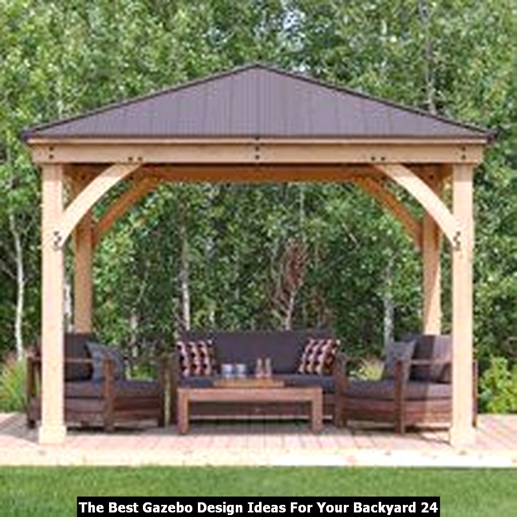 The Best Gazebo Design Ideas For Your Backyard 24