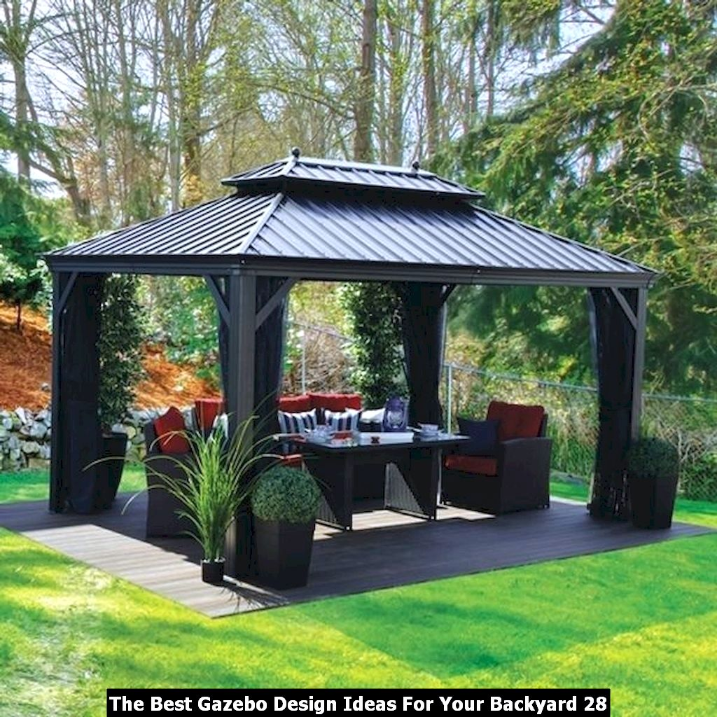 The Best Gazebo Design Ideas For Your Backyard 28