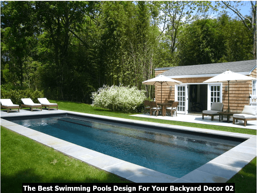The Best Swimming Pools Design For Your Backyard Decor 02