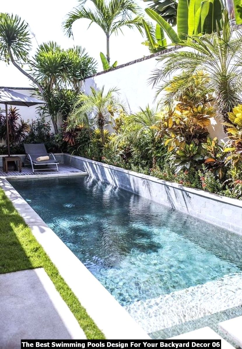 The Best Swimming Pools Design For Your Backyard Decor 06