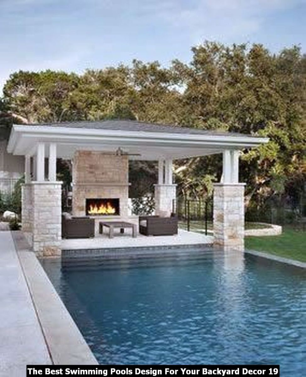 The Best Swimming Pools Design For Your Backyard Decor 19