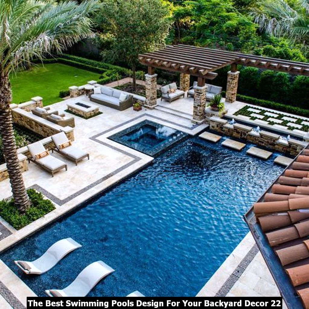 The Best Swimming Pools Design For Your Backyard Decor 22