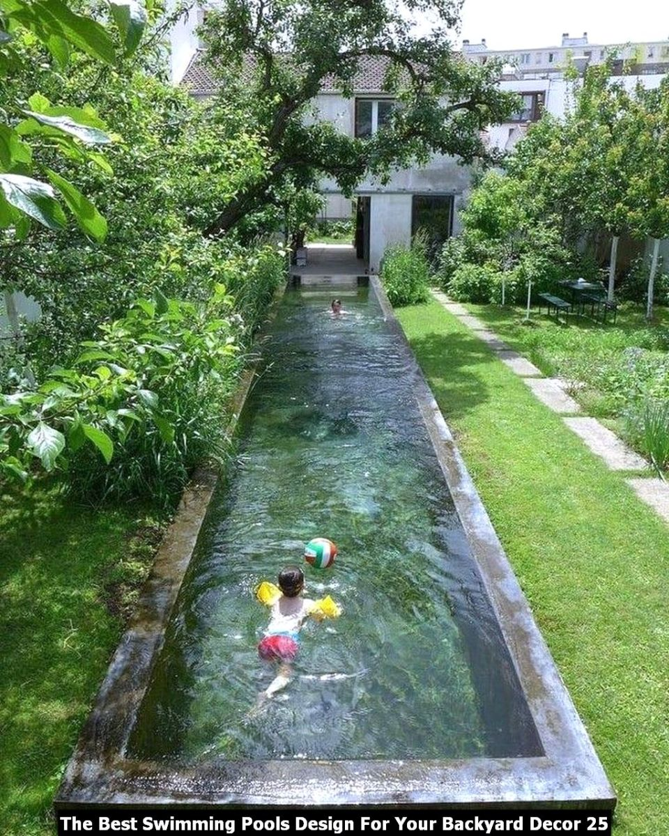 The Best Swimming Pools Design For Your Backyard Decor 25