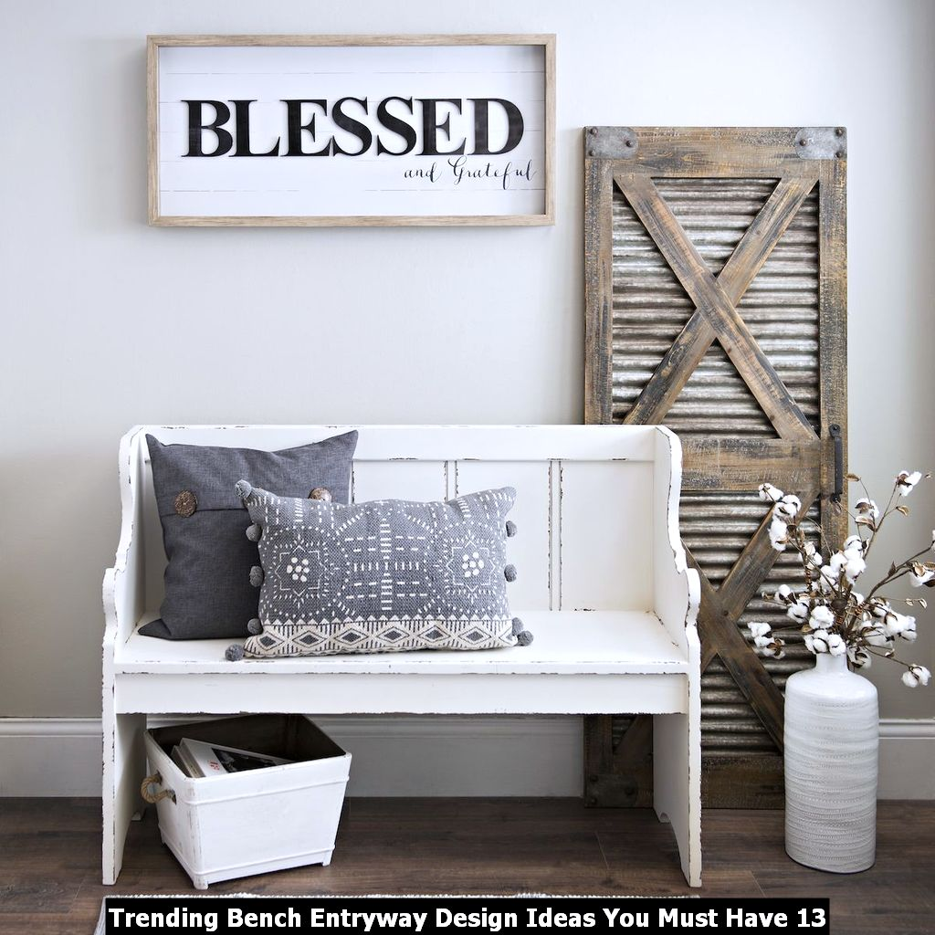 Trending Bench Entryway Design Ideas You Must Have 13