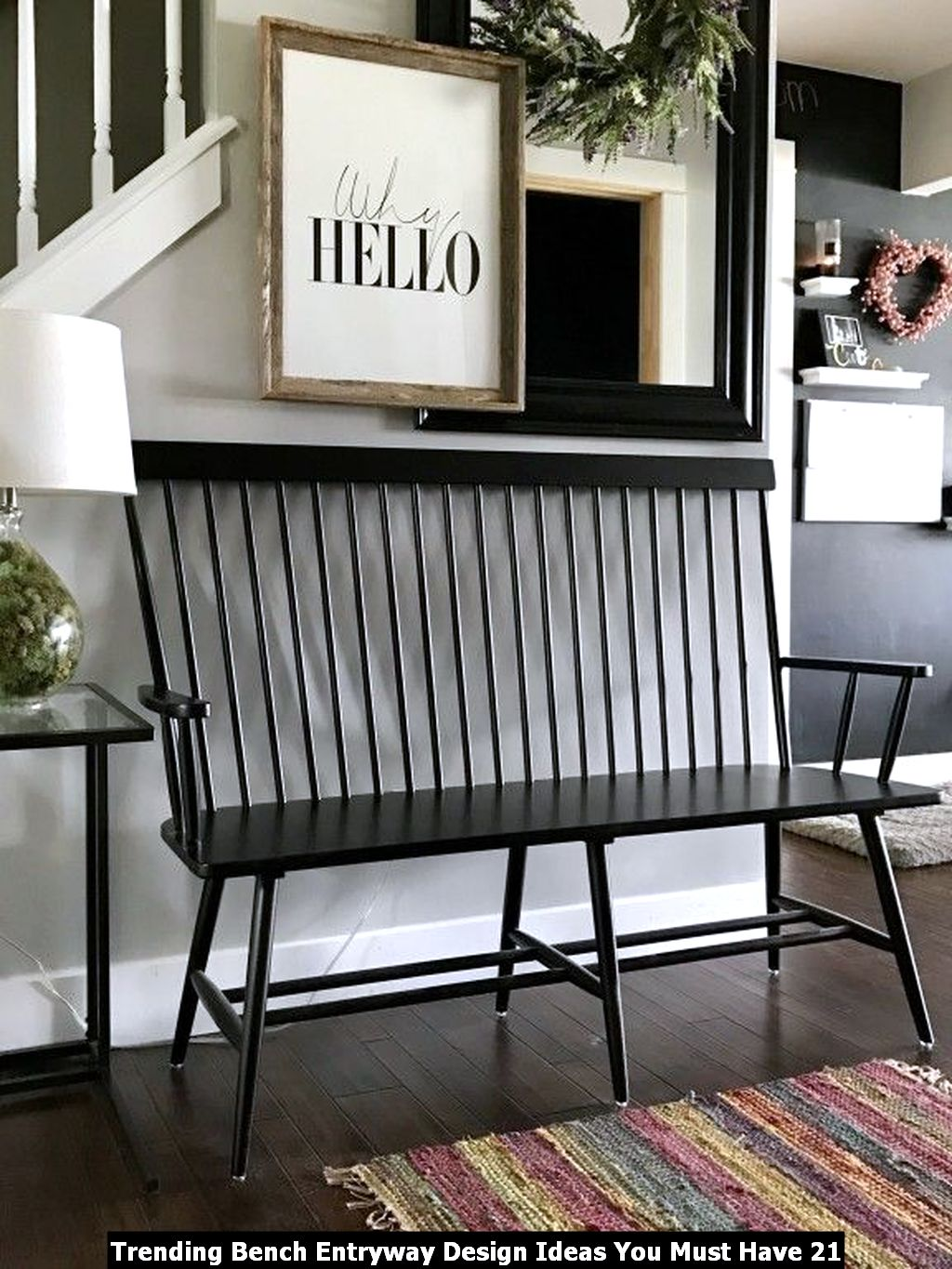 Trending Bench Entryway Design Ideas You Must Have 21