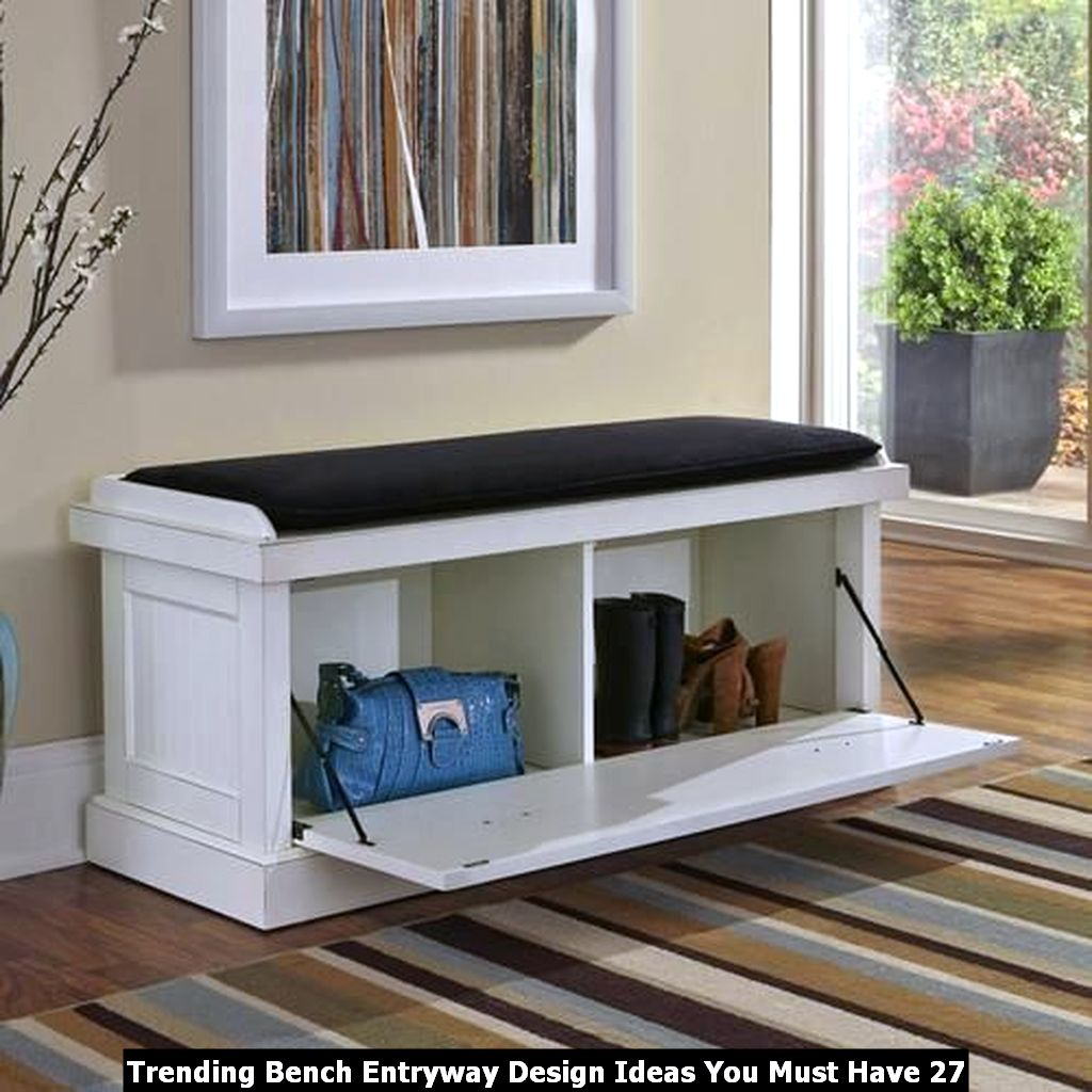 Trending Bench Entryway Design Ideas You Must Have 27