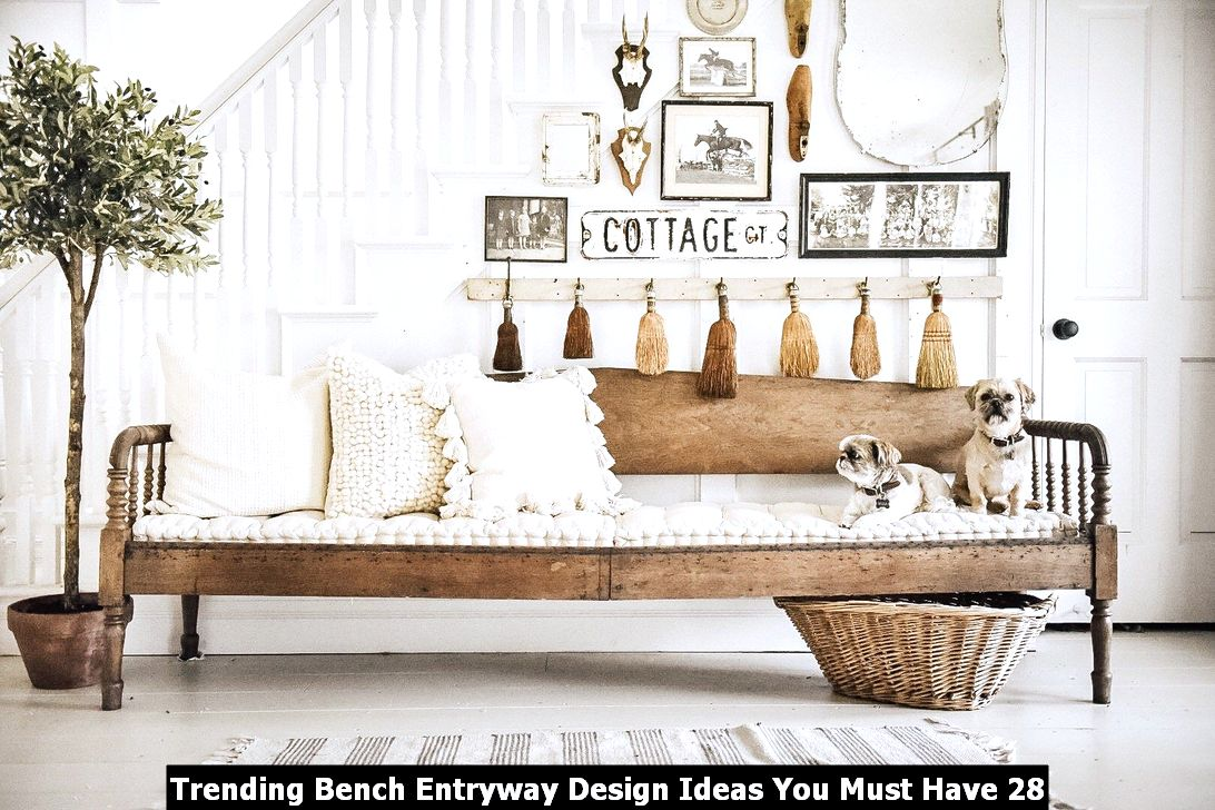 Trending Bench Entryway Design Ideas You Must Have 28