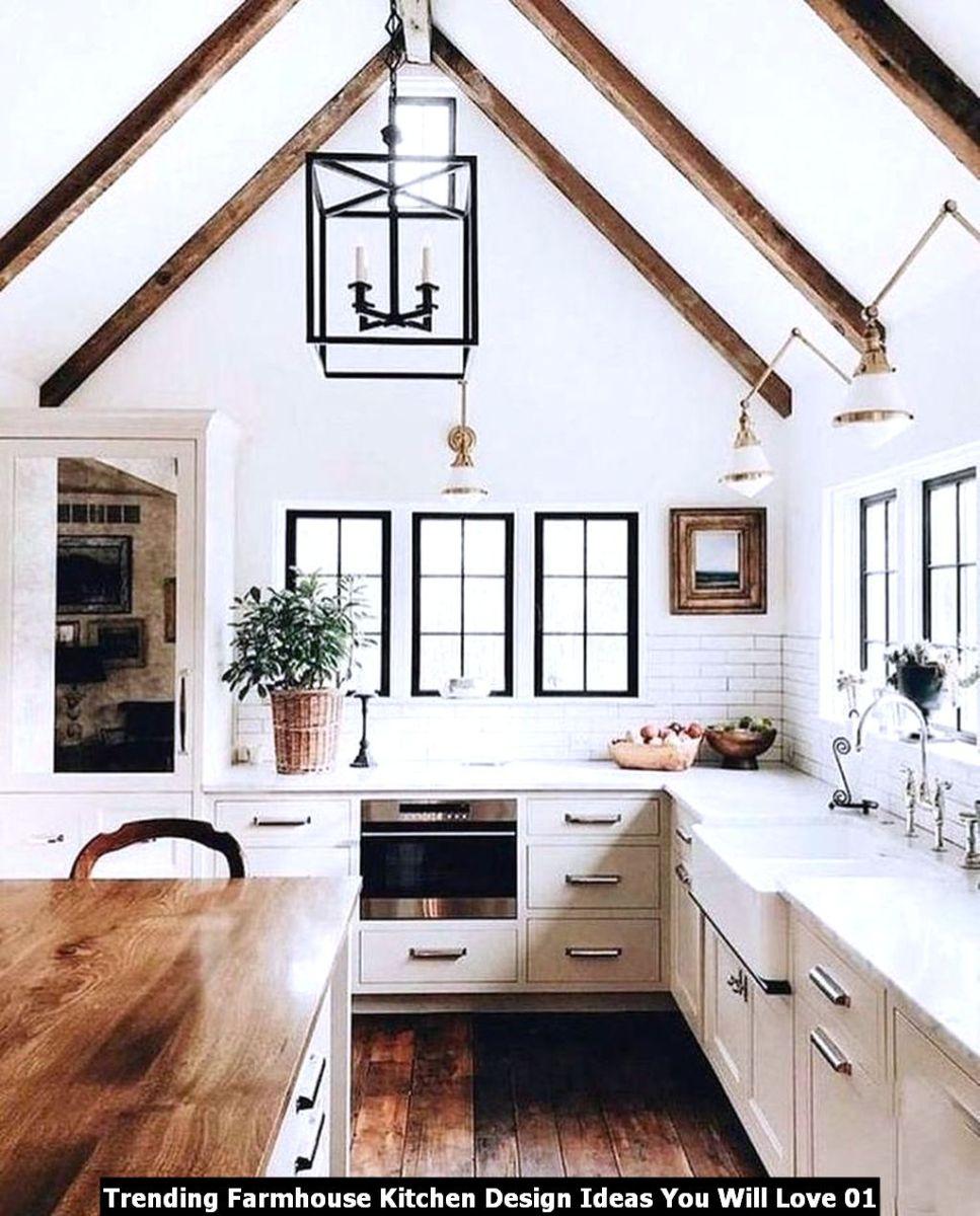 Trending Farmhouse Kitchen Design Ideas You Will Love 01