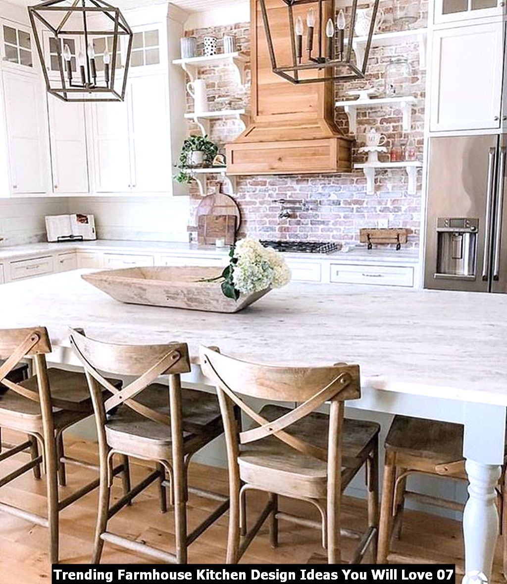 Trending Farmhouse Kitchen Design Ideas You Will Love 07