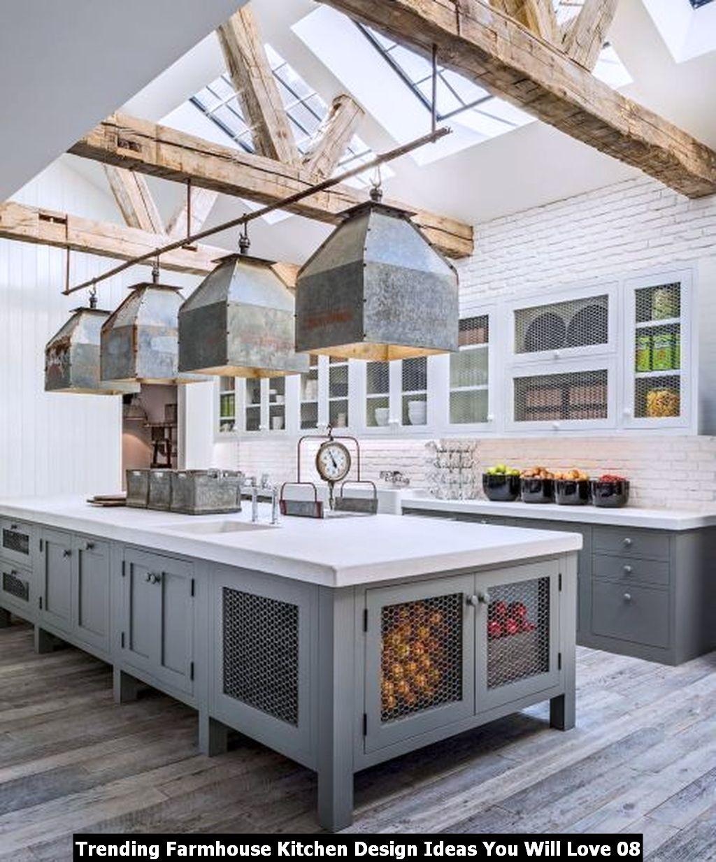 Trending Farmhouse Kitchen Design Ideas You Will Love 08