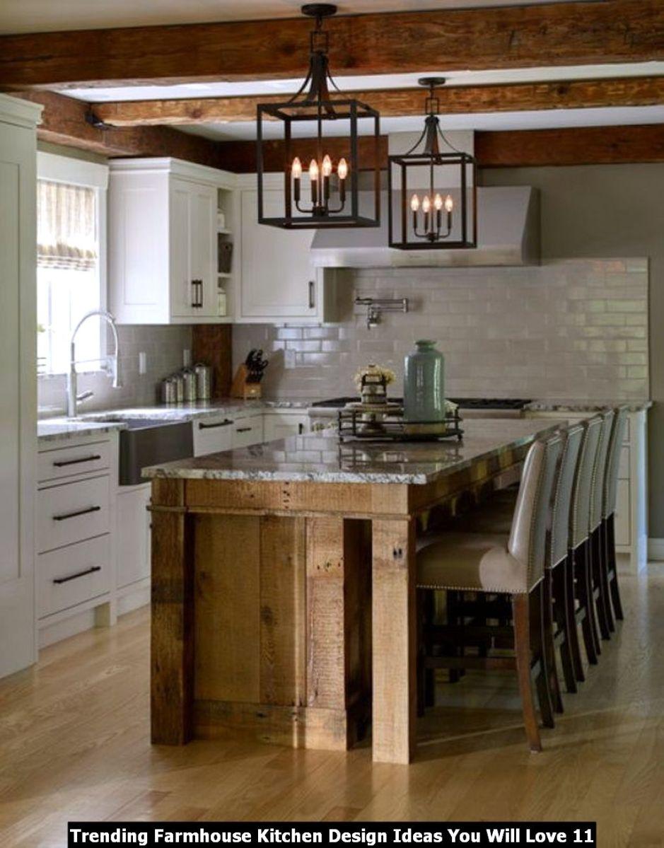 Trending Farmhouse Kitchen Design Ideas You Will Love 11