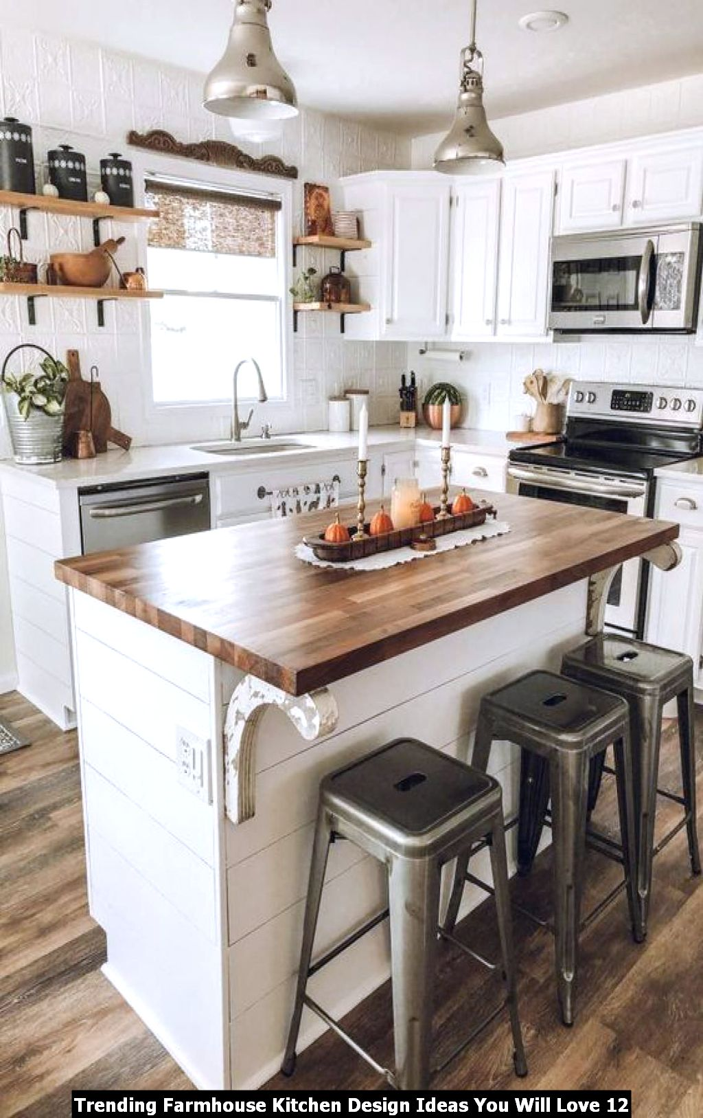 Trending Farmhouse Kitchen Design Ideas You Will Love 12