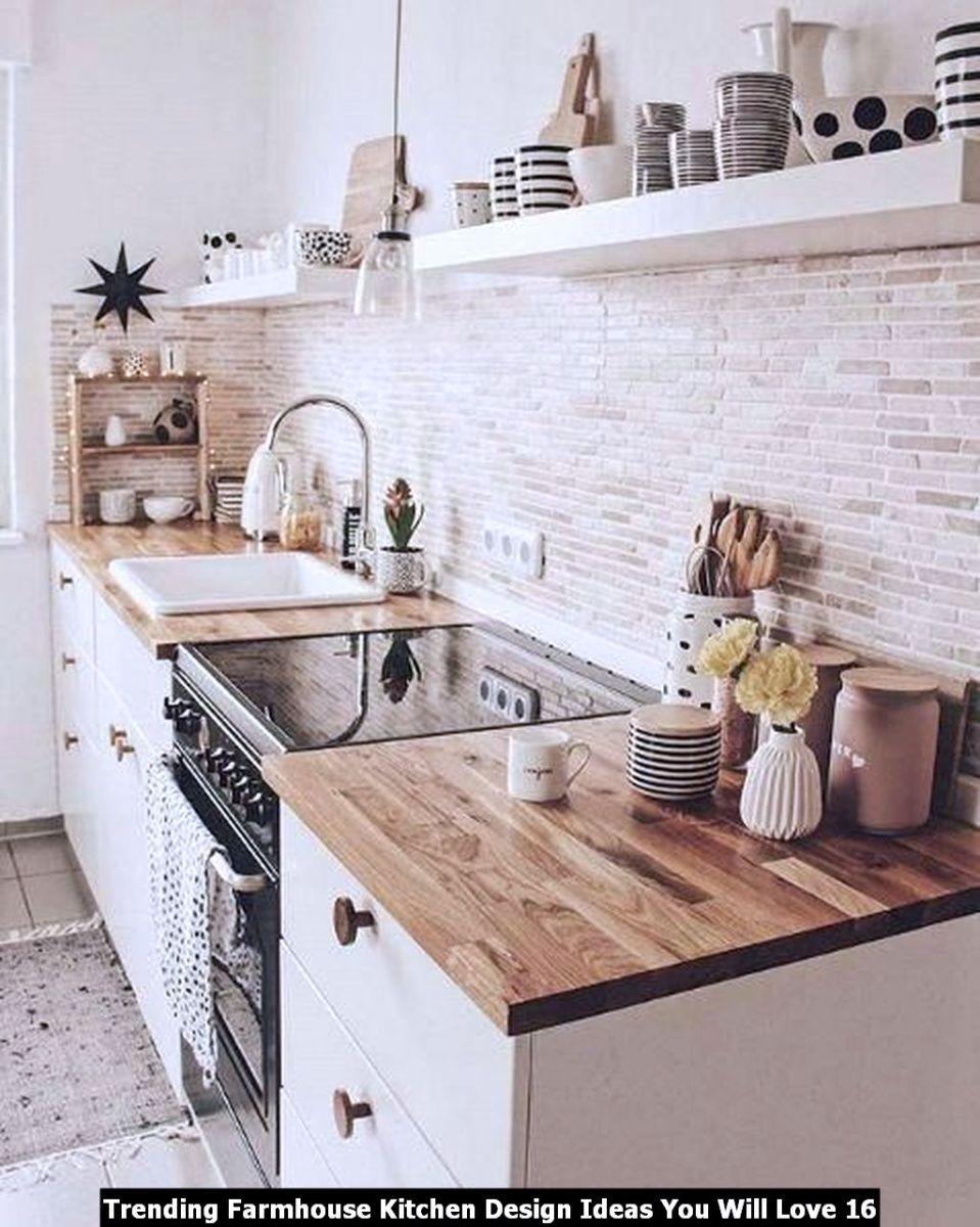 Trending Farmhouse Kitchen Design Ideas You Will Love 16