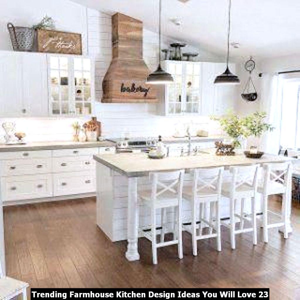 Trending Farmhouse Kitchen Design Ideas You Will Love 23