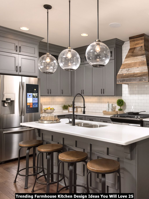 Trending Farmhouse Kitchen Design Ideas You Will Love 25