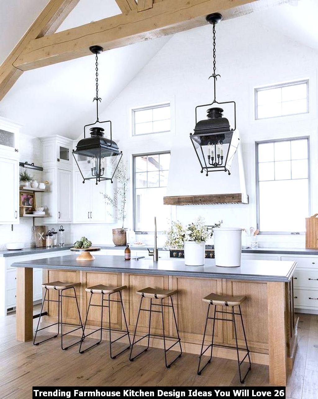 Trending Farmhouse Kitchen Design Ideas You Will Love 26