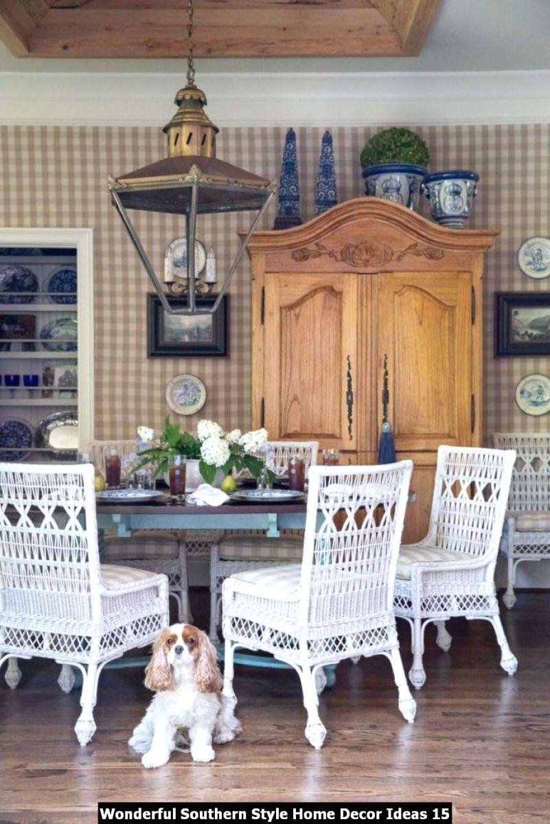 Wonderful Southern Style Home Decor Ideas 15