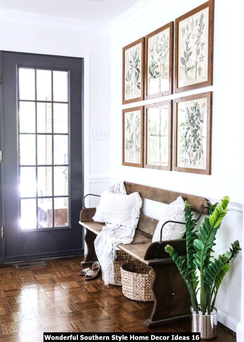 Wonderful Southern Style Home Decor Ideas 16