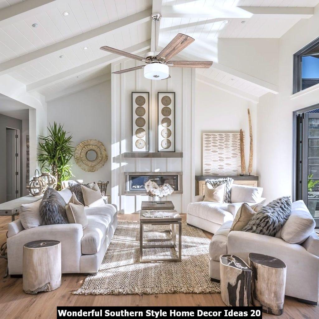 Wonderful Southern Style Home Decor Ideas 20