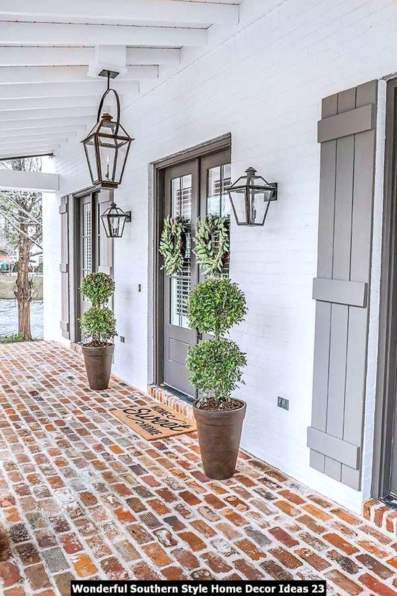 Wonderful Southern Style Home Decor Ideas 23