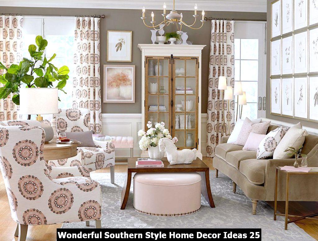 Wonderful Southern Style Home Decor Ideas 25