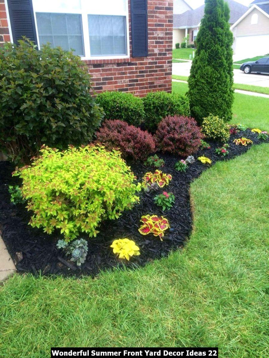 Wonderful Summer Front Yard Decor Ideas 22