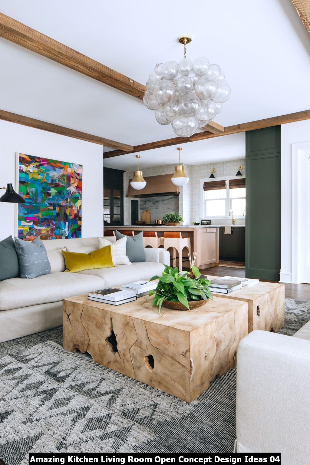 Amazing Kitchen Living Room Open Concept Design Ideas 04