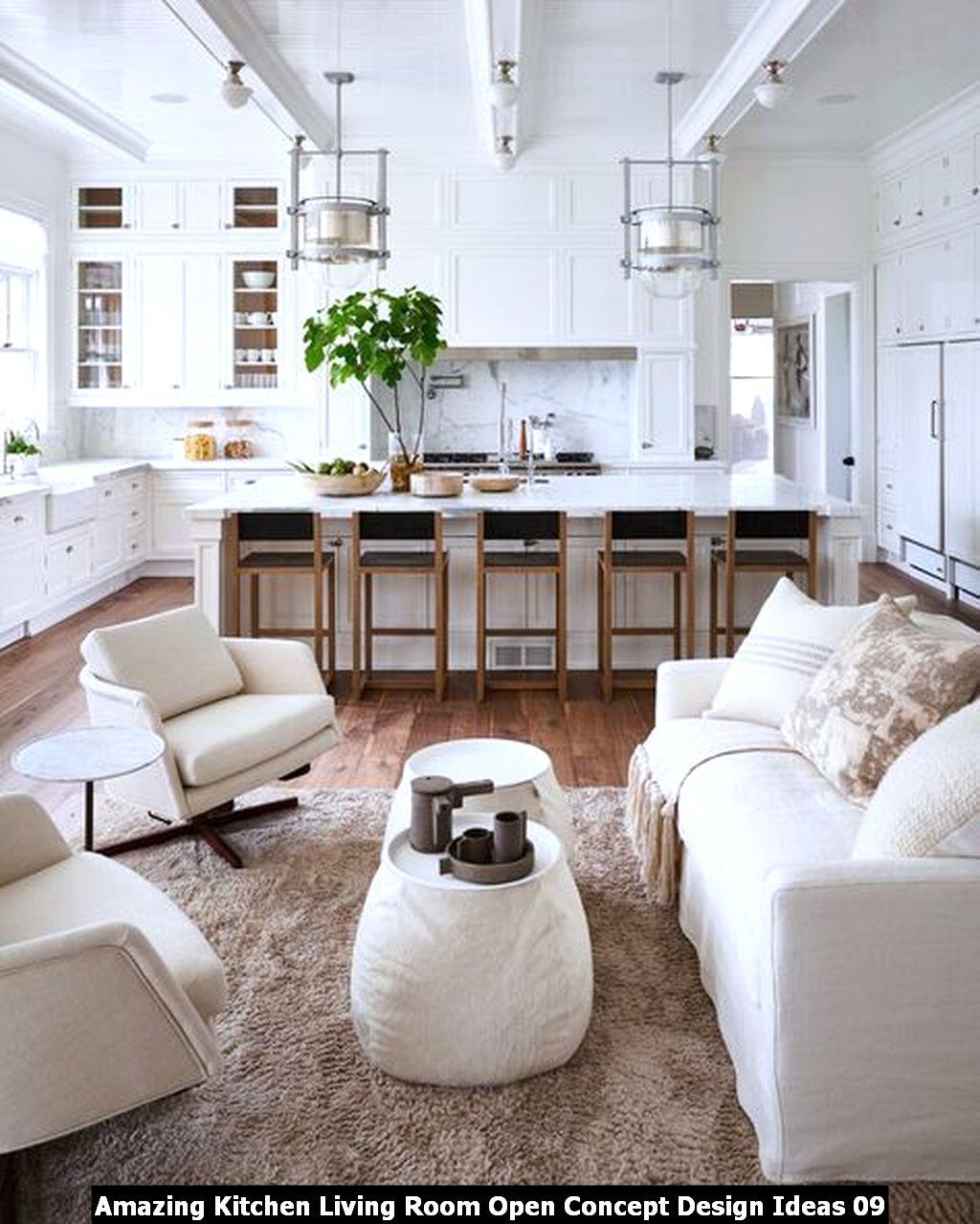 Amazing Kitchen Living Room Open Concept Design Ideas 09