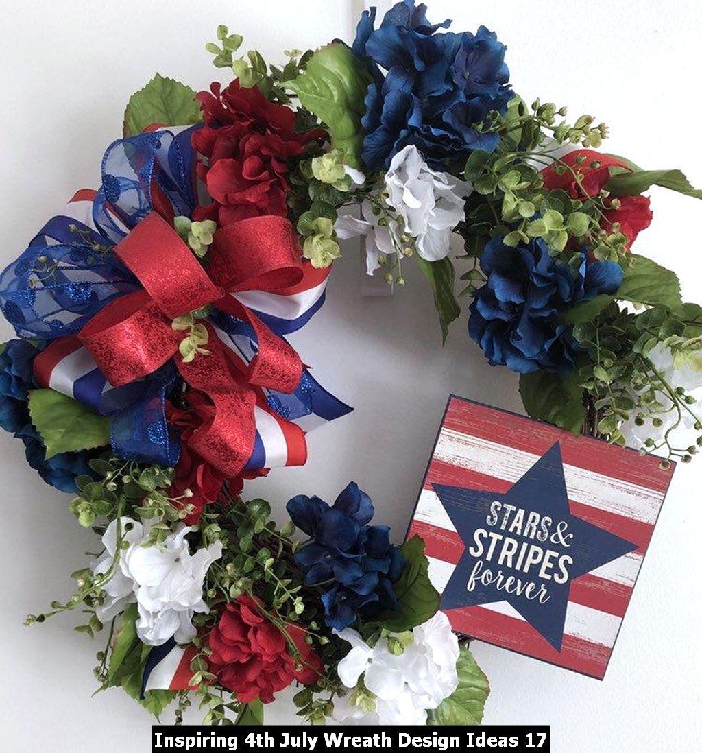 Inspiring 4th July Wreath Design Ideas 17