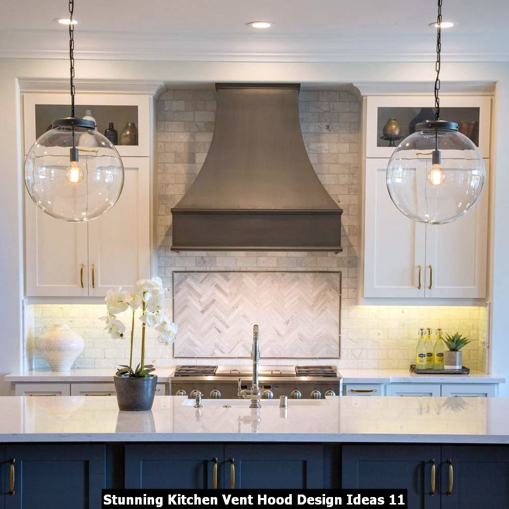 Stunning Kitchen Vent Hood Design Ideas 11