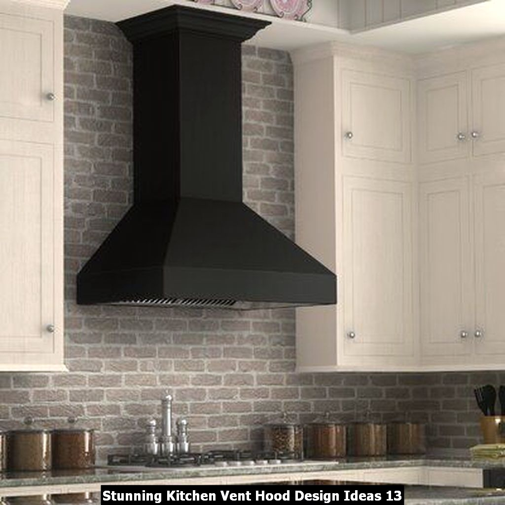 Stunning Kitchen Vent Hood Design Ideas 13