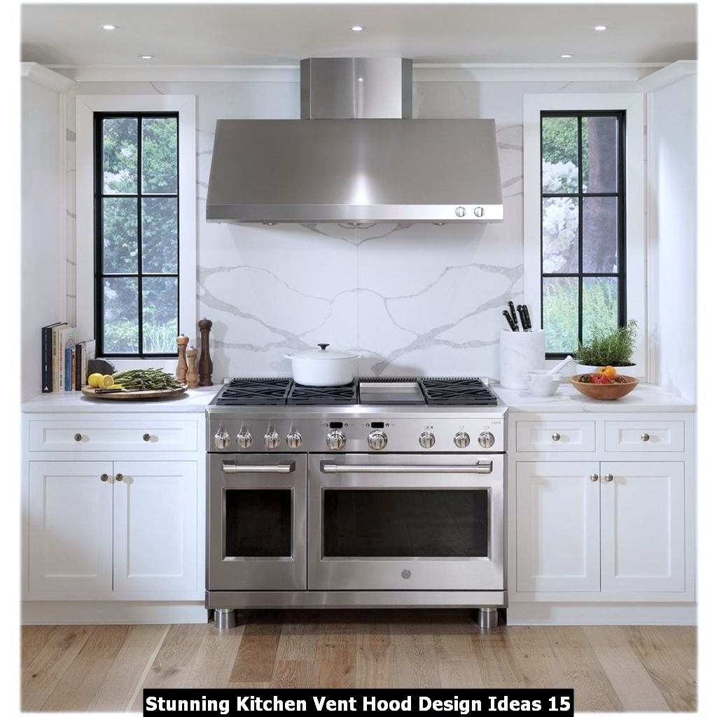 Stunning Kitchen Vent Hood Design Ideas 15