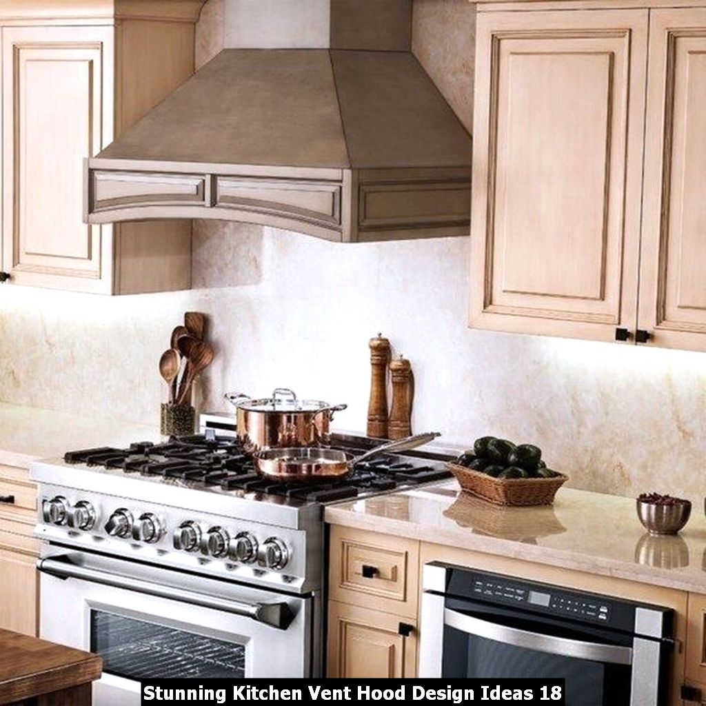 Stunning Kitchen Vent Hood Design Ideas 18