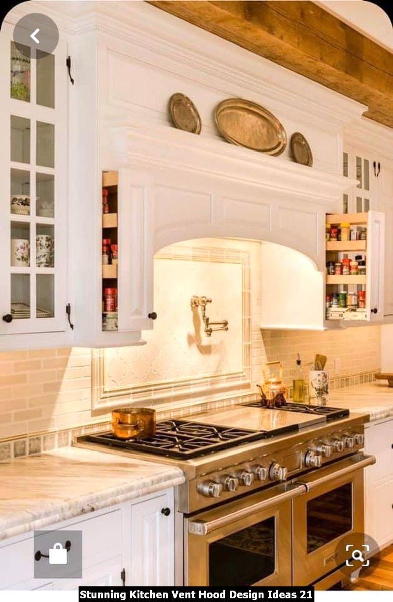 Stunning Kitchen Vent Hood Design Ideas 21