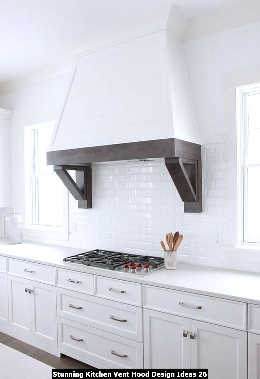 Stunning Kitchen Vent Hood Design Ideas 26