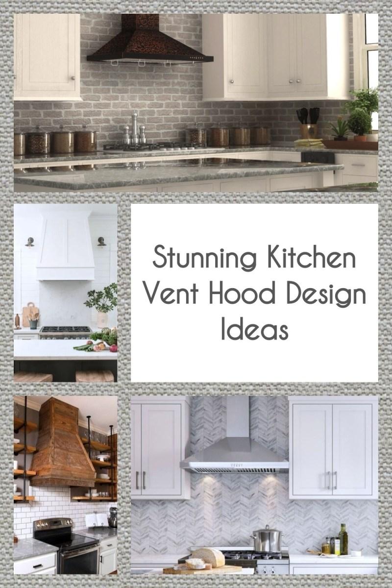 Stunning Kitchen Vent Hood Design Ideas