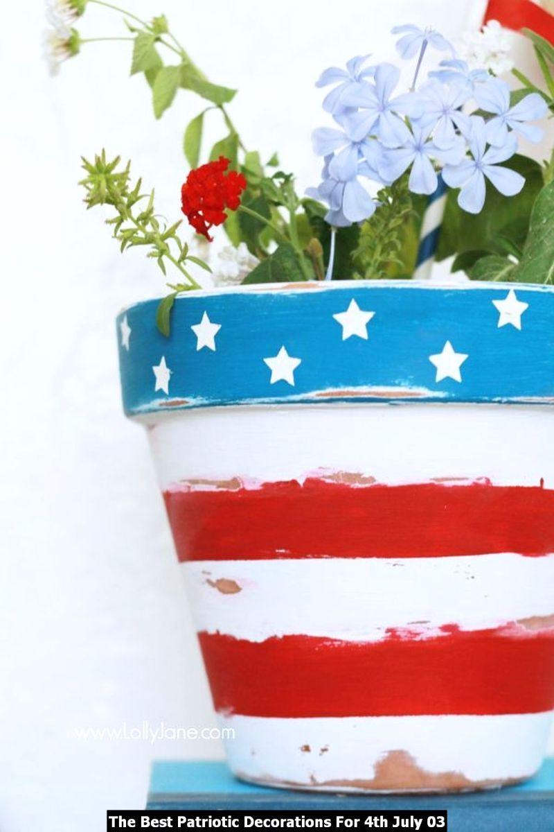 The Best Patriotic Decorations For 4th July 03