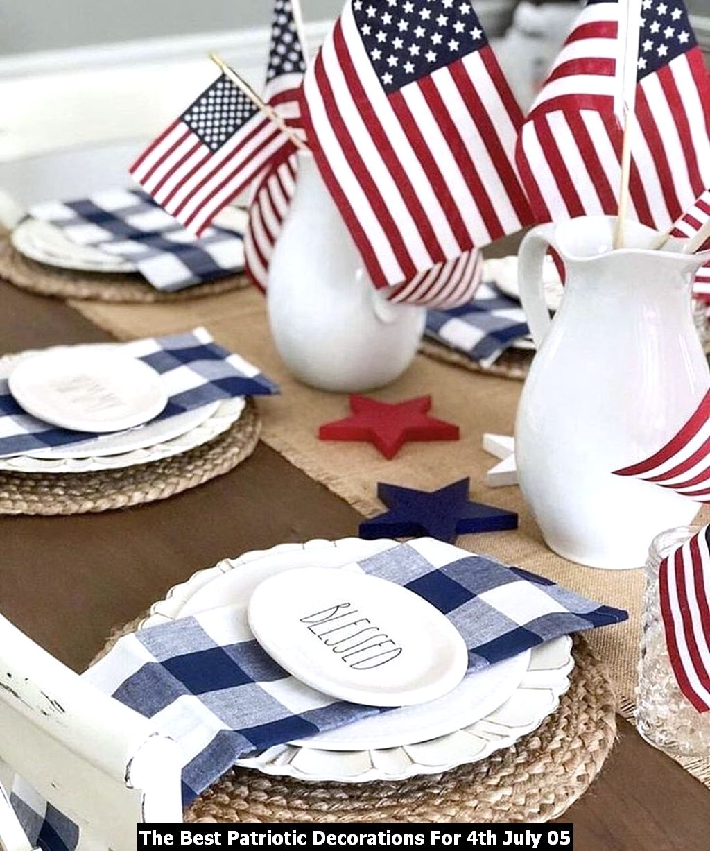 The Best Patriotic Decorations For 4th July 05