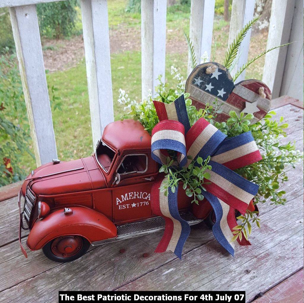 The Best Patriotic Decorations For 4th July 07