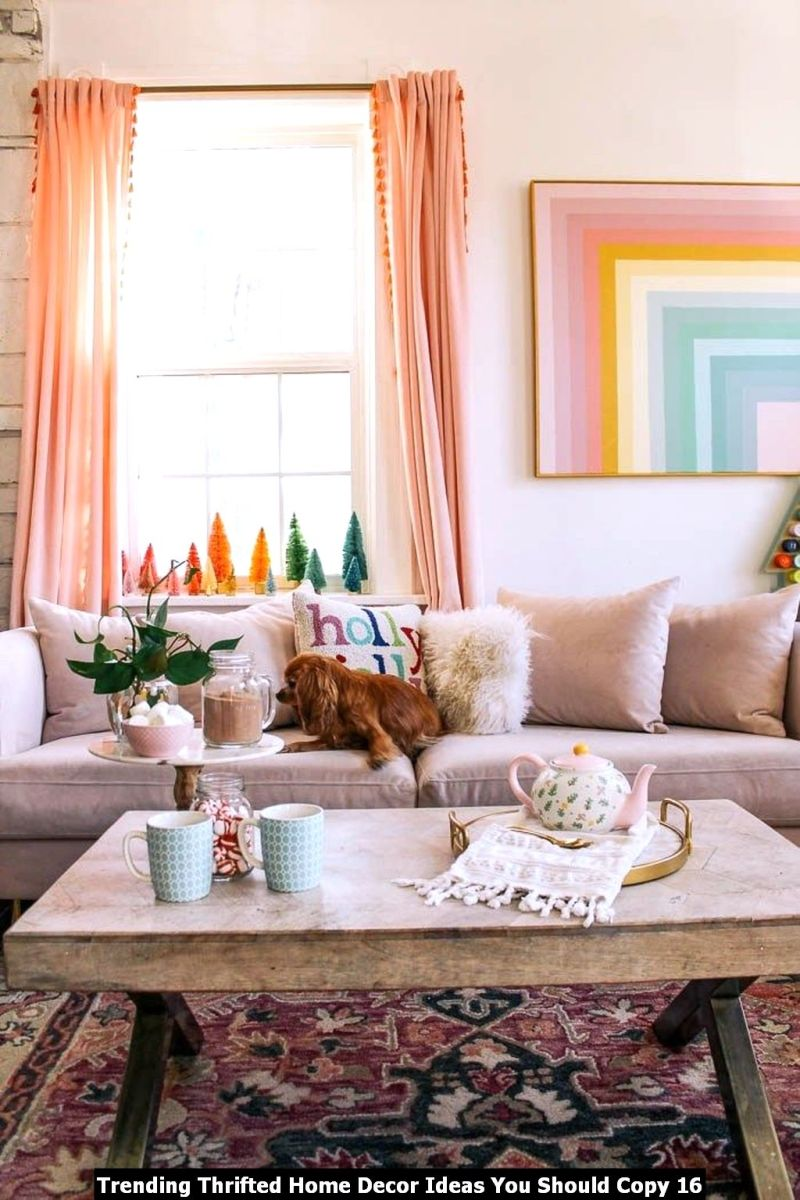 Trending Thrifted Home Decor Ideas You Should Copy 16