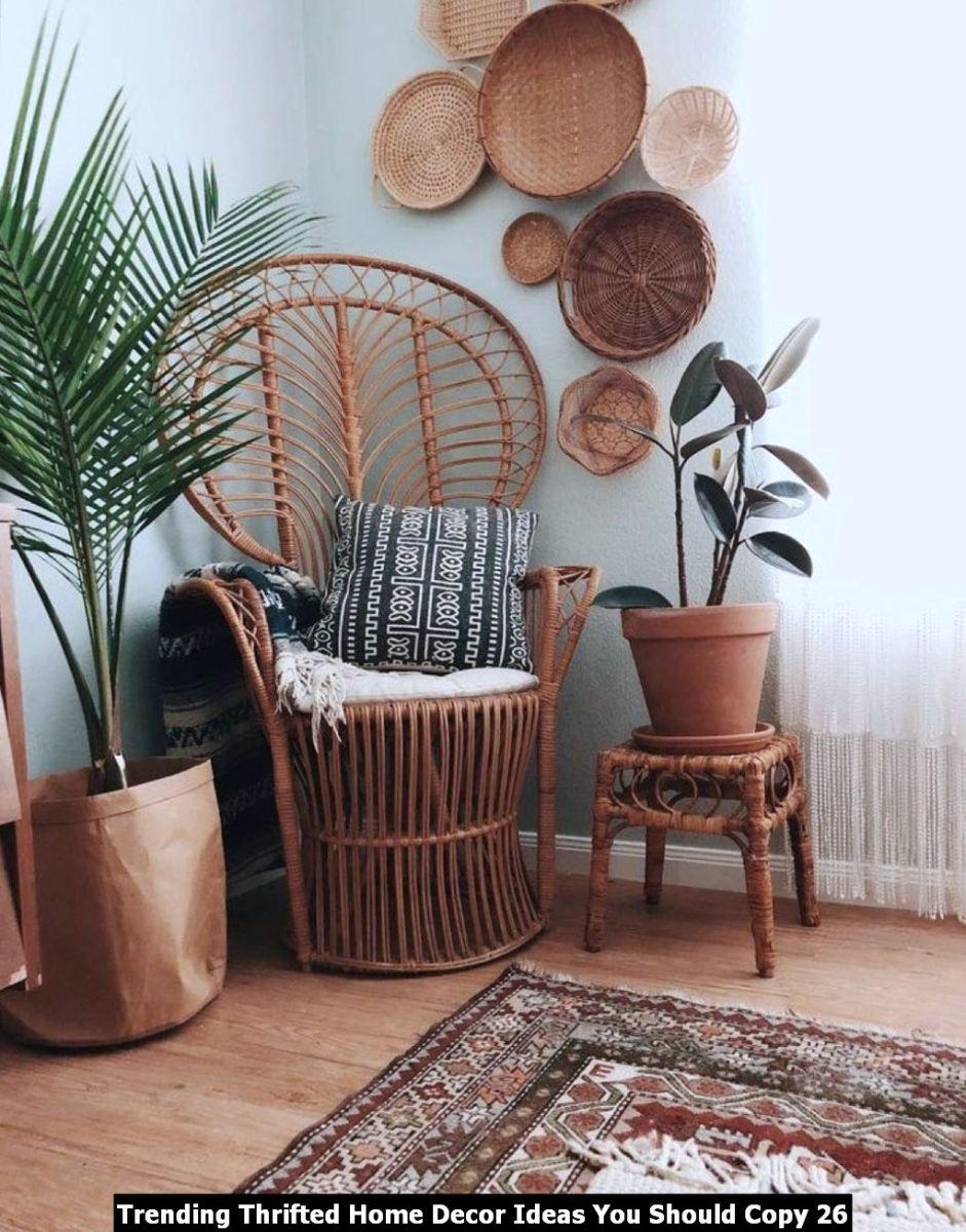 Trending Thrifted Home Decor Ideas You Should Copy 26