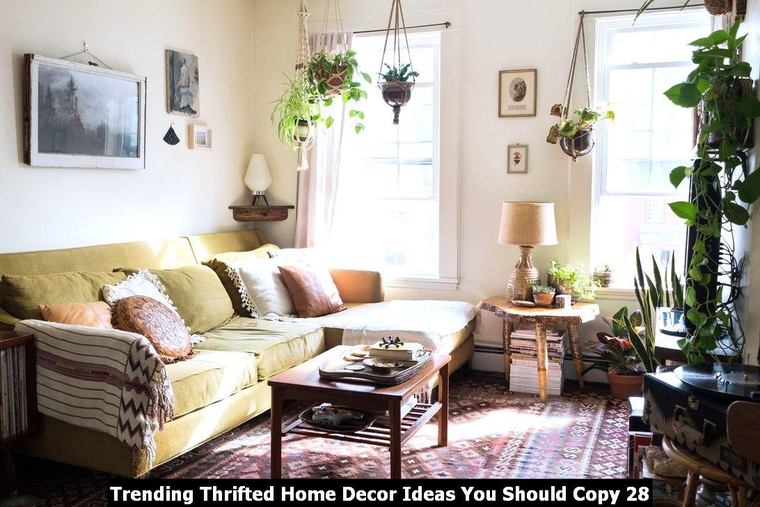 Trending Thrifted Home Decor Ideas You Should Copy 28