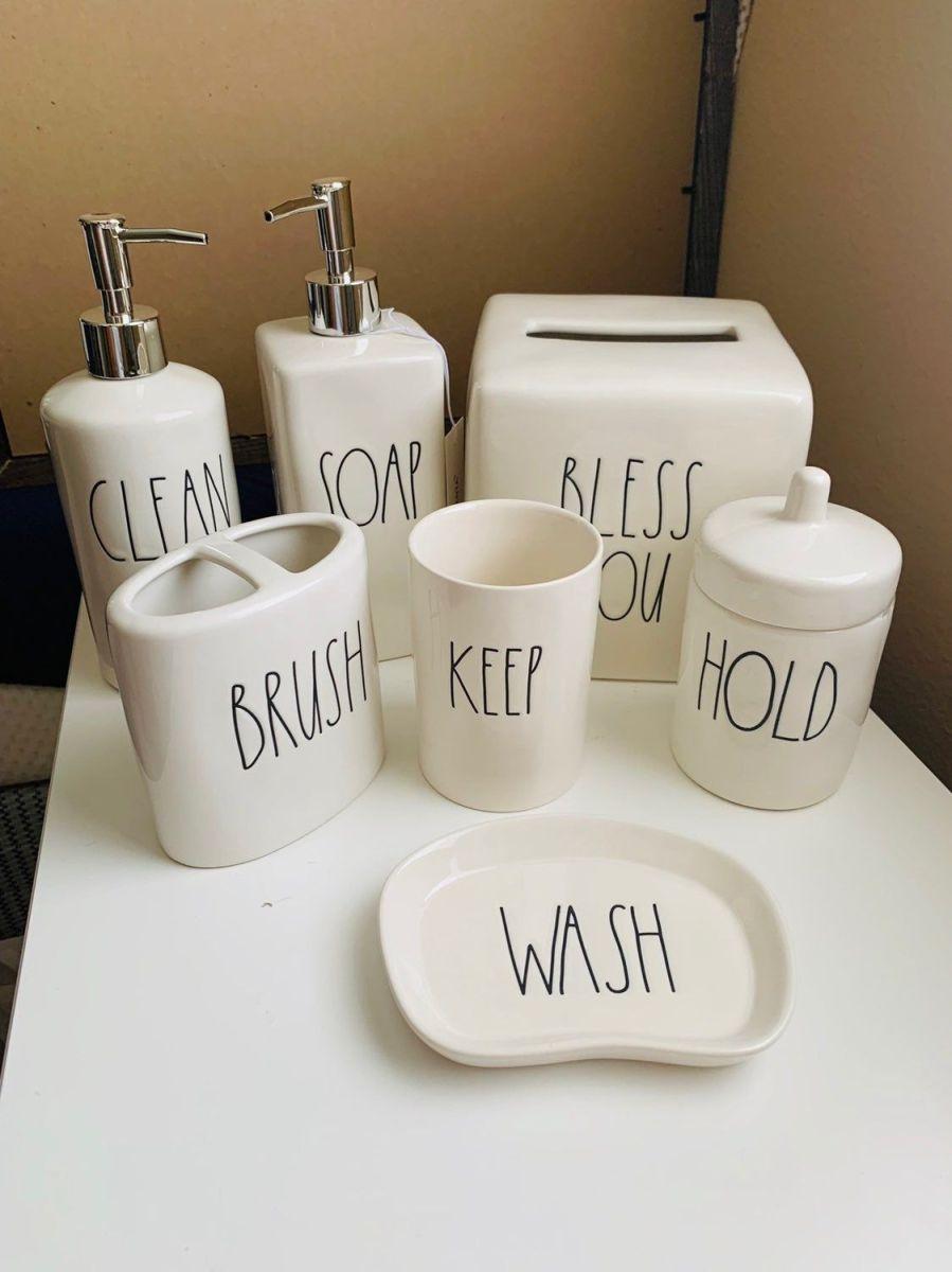 Rae Dunn Bathroom