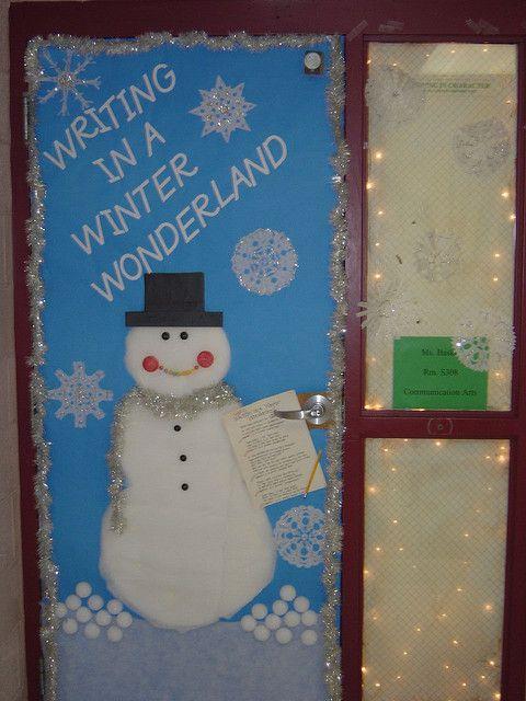Winter Wonderland Door Decorations