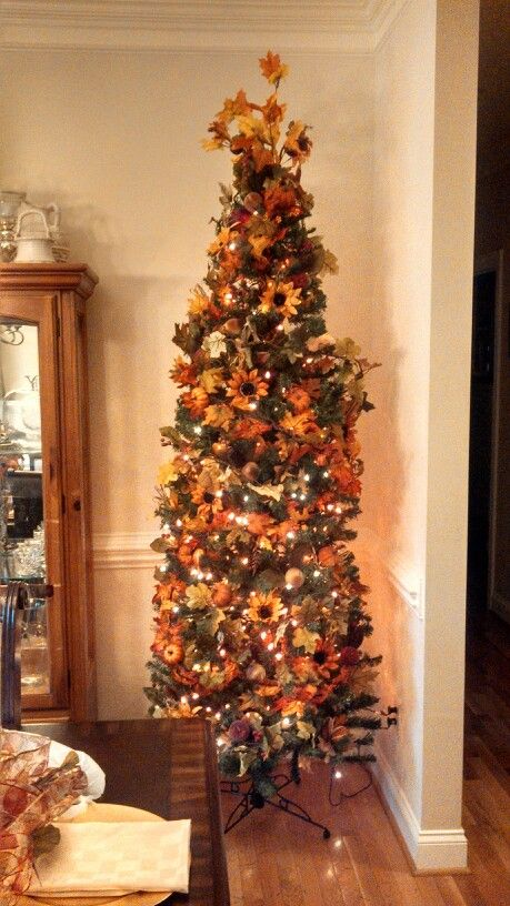 Fall Tree Decorating Ideas