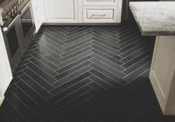 Black Kitchen Floor Tiles