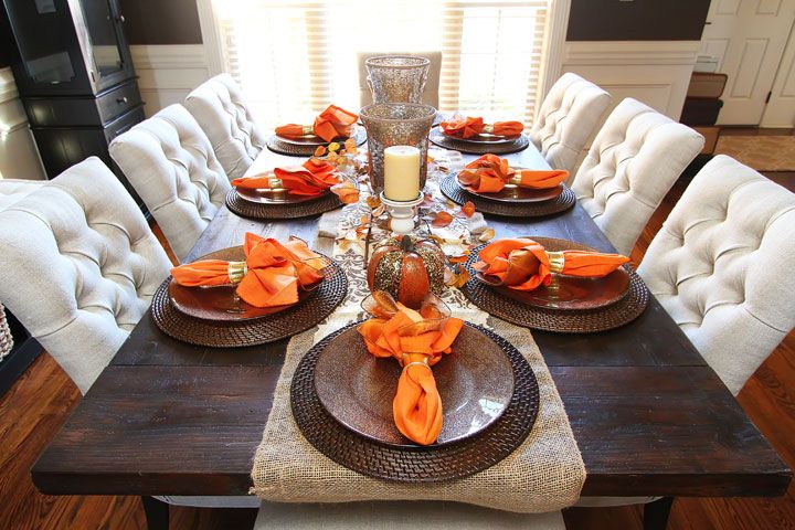 Fall Dining Room Table Decor