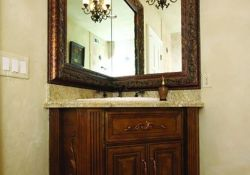 Corner Bathroom Mirror
