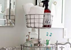 Bathroom Counter Organization Ideas